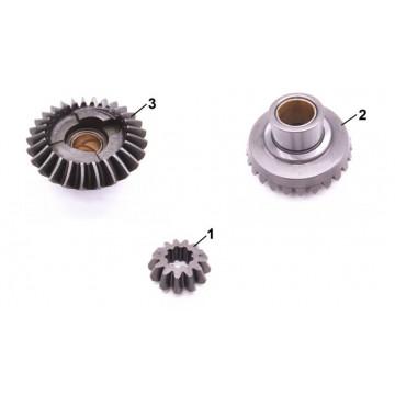 67D-45560-00 / 6E0-45551-00 / 67D-45570-00 Engranaje de unidad inferior Yamaha F4 a F6